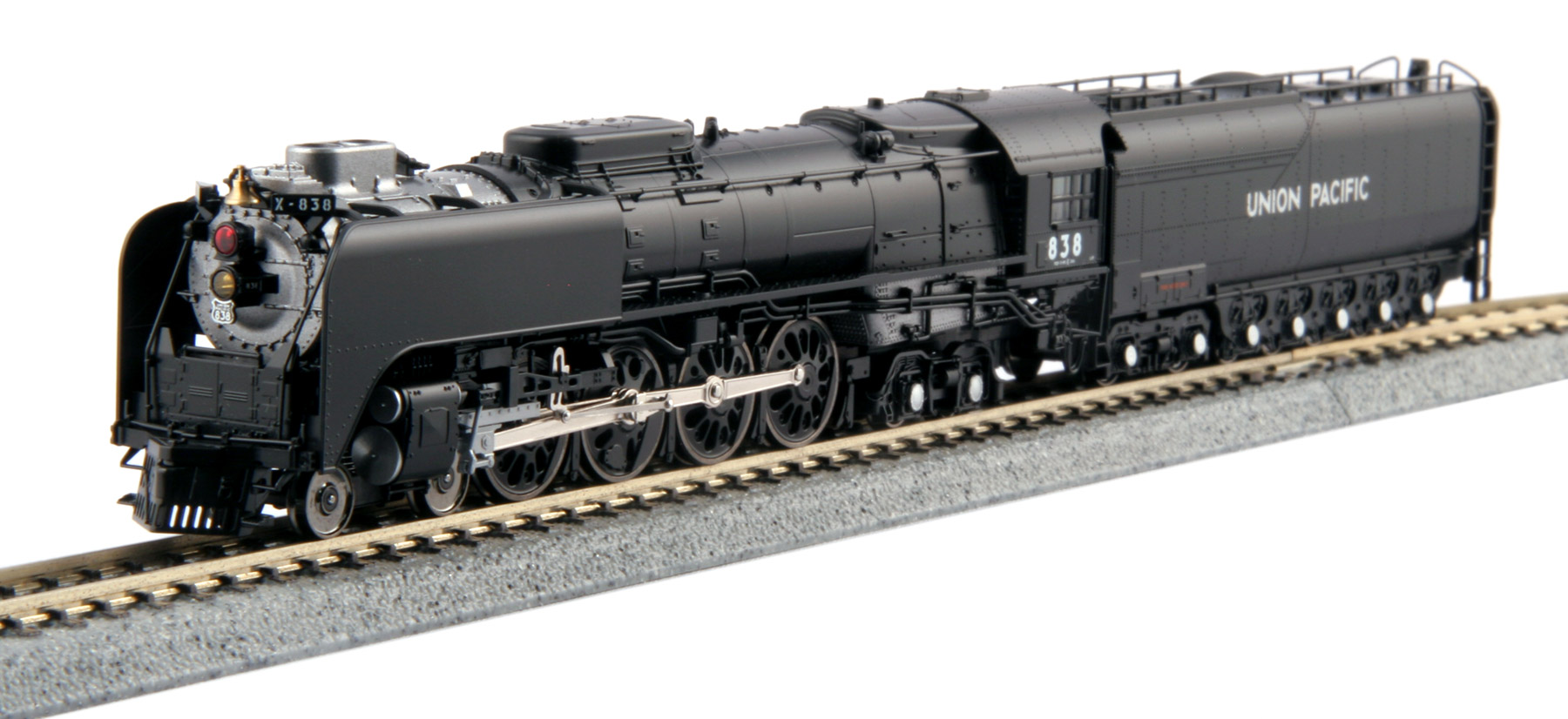 Kato N 4-8-4 FEF-3 Union Pacific #838 - Freight version